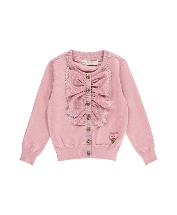 "Angel""s Face  Polly  Cardigan Tea Rose"