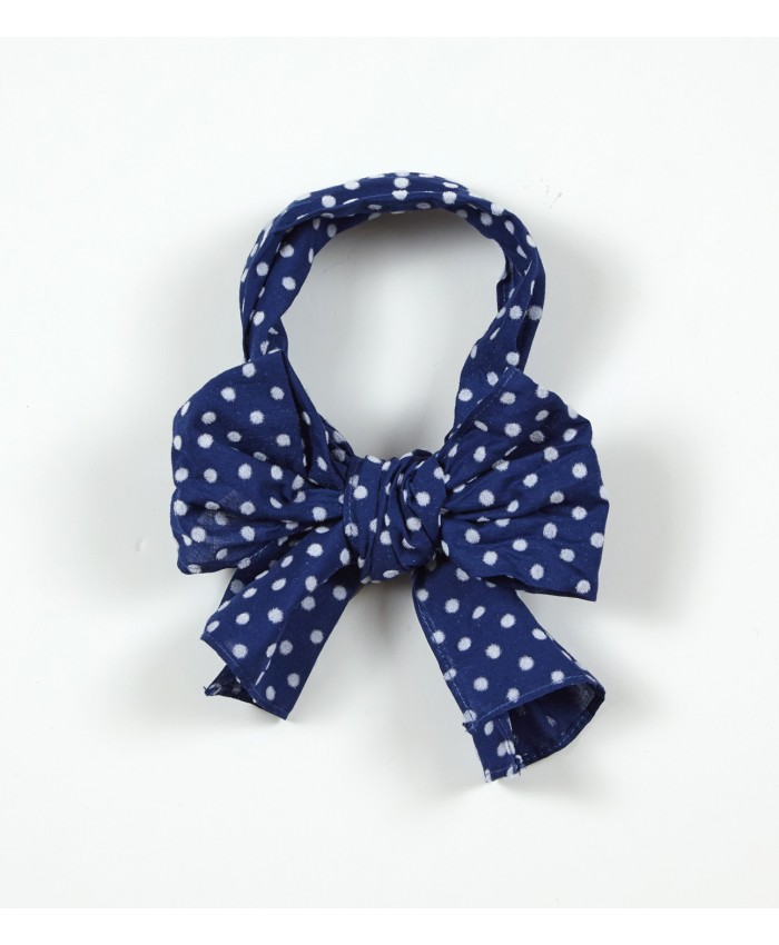 Ariana Dee haarband Ali blue navy spotted  New collection