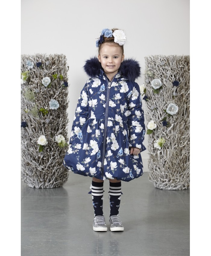 Ariana Dee long wintercoat Jenna Blue Navy