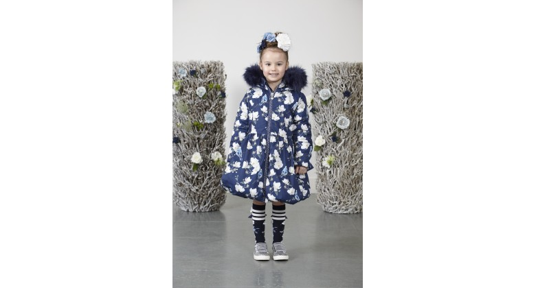 Ariana Dee winter coat Jenna Blue Navy
