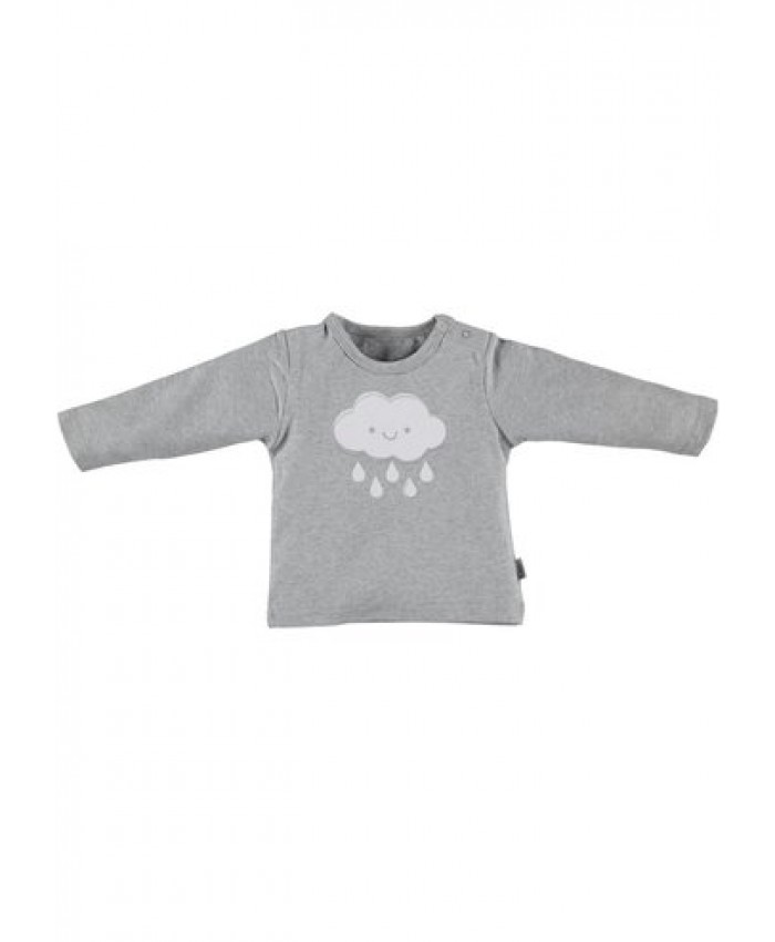 b*e*s*s newborn tricot  unisex shirtje cloud grey
