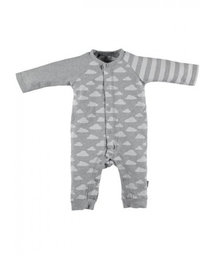 b*e*s*s newborn  tricot suit unisex cloud BS1008 light grey