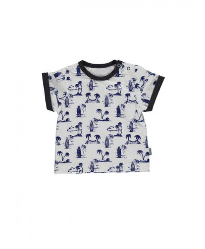 b*e*s*s newborn  T shirt   boys surf navy