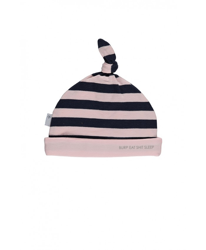 b*e*s*s hatter Pink navy Striped