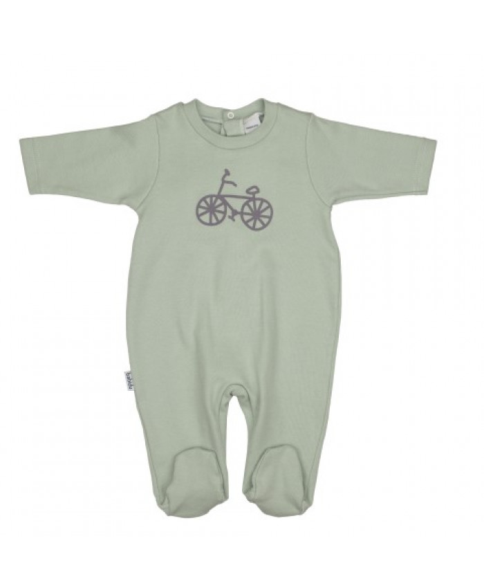 Babidu Jongens Boxpakje snap bike grey