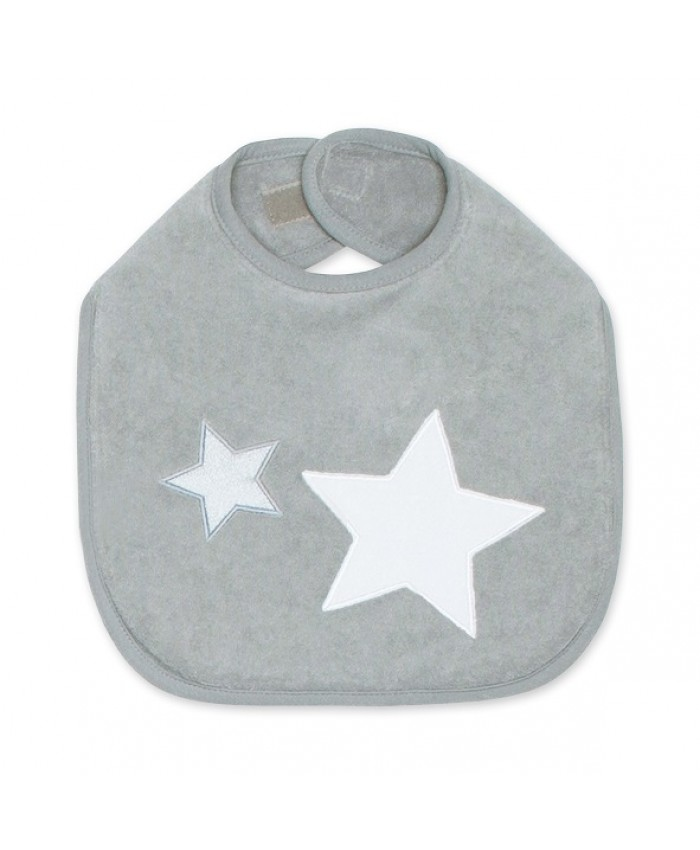 Bemini slab star 37 cm grey