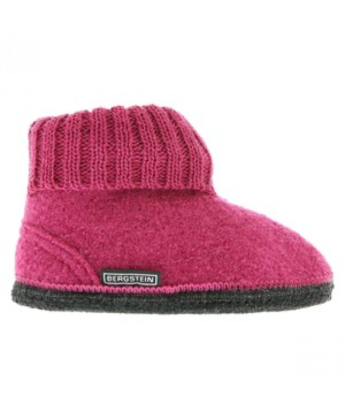 Bergstein Cozy Winter slof l Raspberry