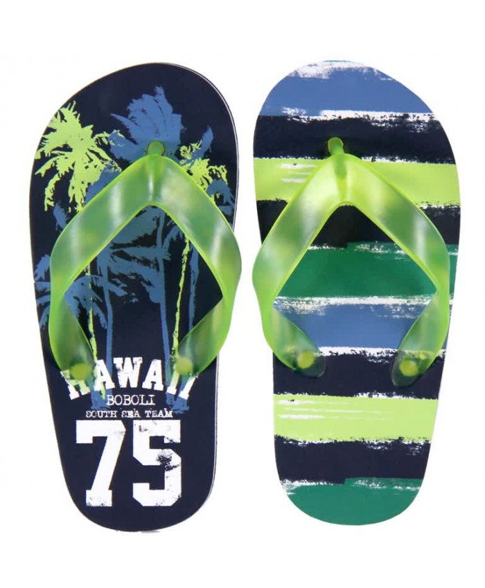 Boboli slippers hawaii neon
