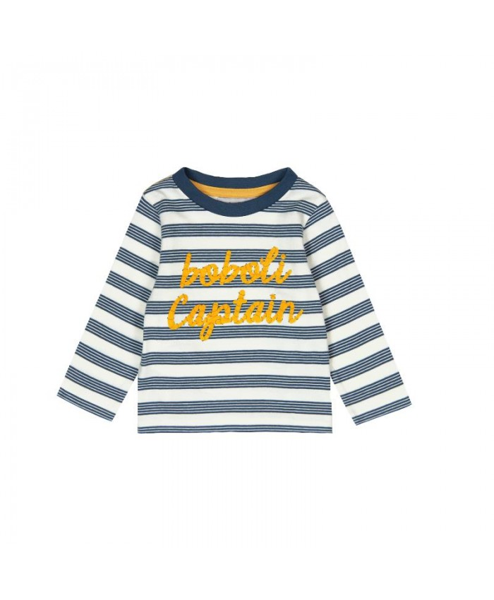 Boboli knit T-Shirt  Striped For Baby Boy