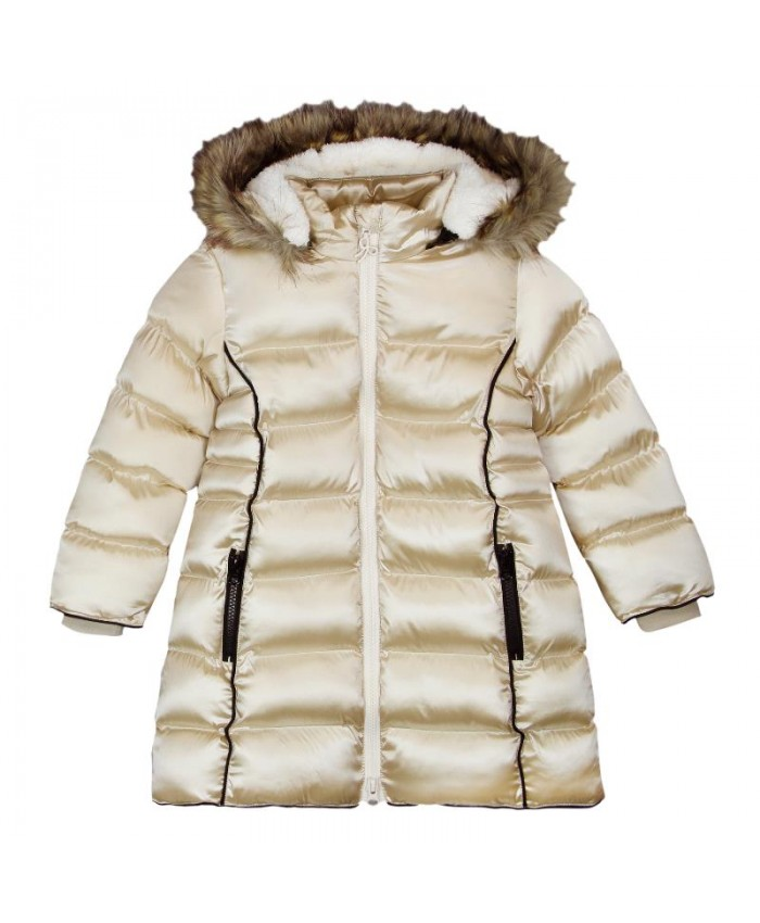 Boboli Techincal  Fabric  Parka For Girls
