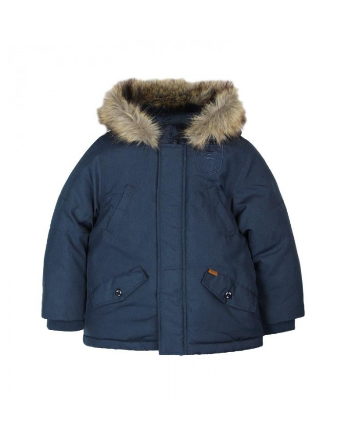 Boboli Techincal  Fabric  Parka For Boy's