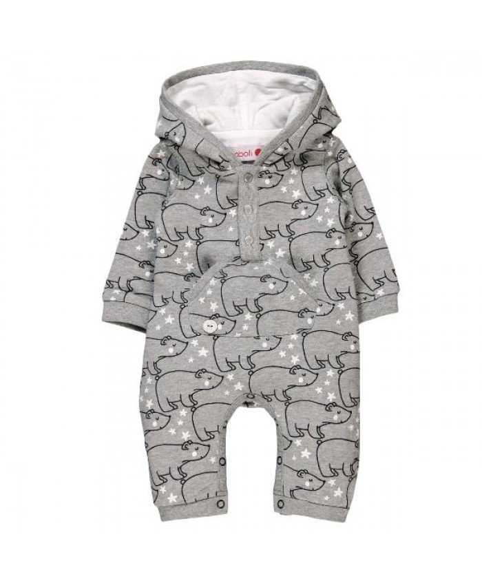 Boboli fleece play suit for baby boy