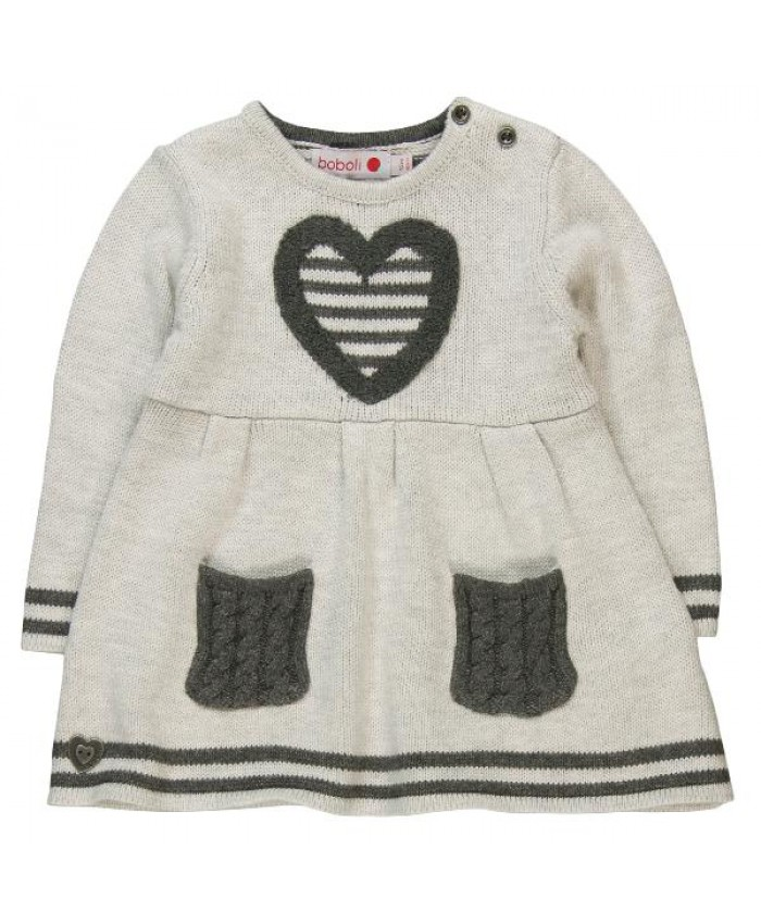 Boboli knitwear dress for baby girl