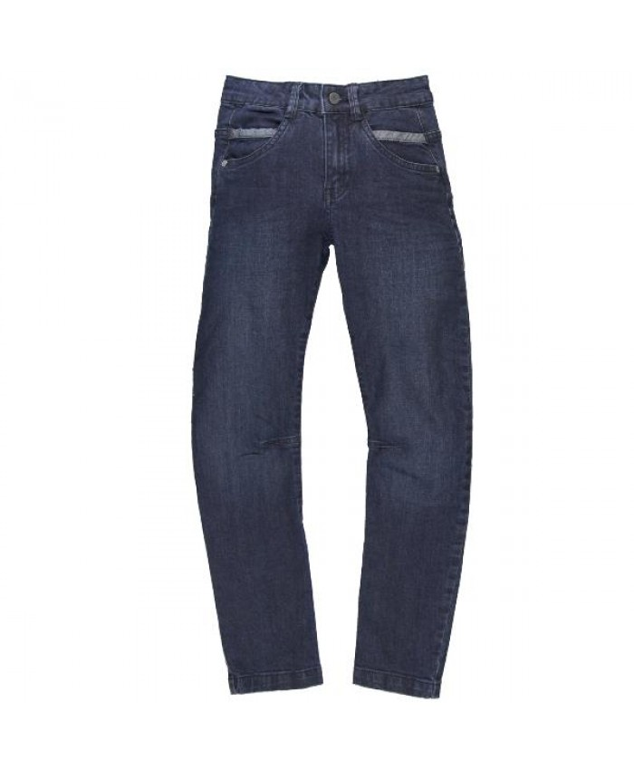 Boboli denim streth broek boy navy
