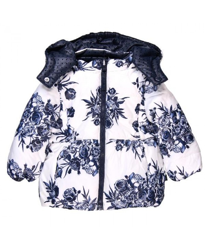 Boboli girls reversible jasje  technica navy