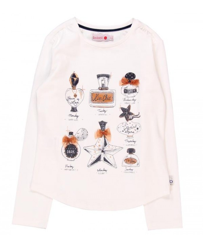 Boboli streth knit shirt for girls