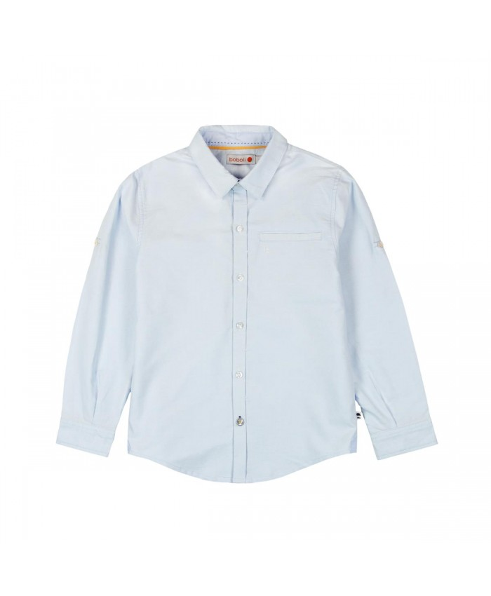 Boboli Overhemd Jongens Light Blue