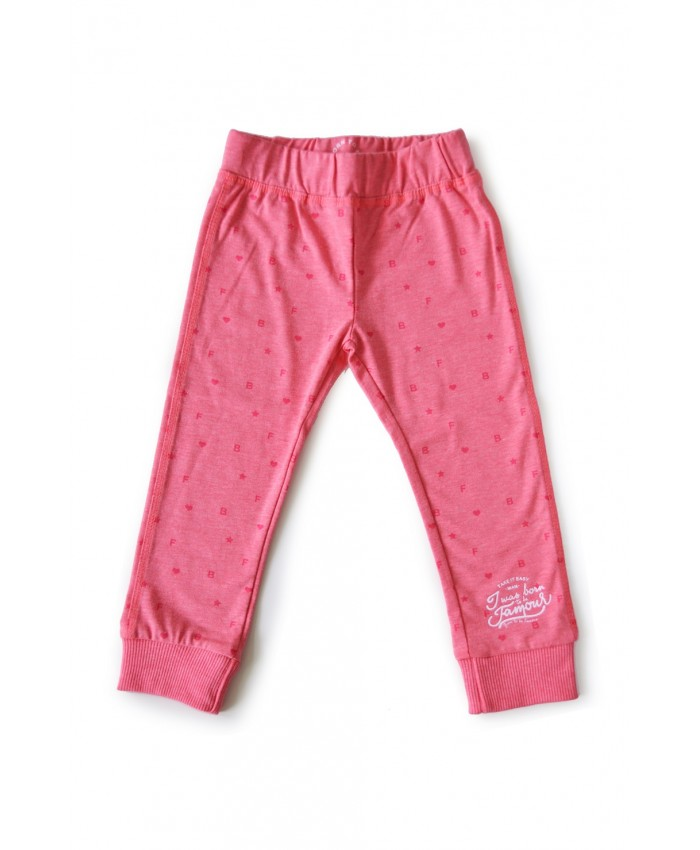 Born to be famous broek cq legging neon pink