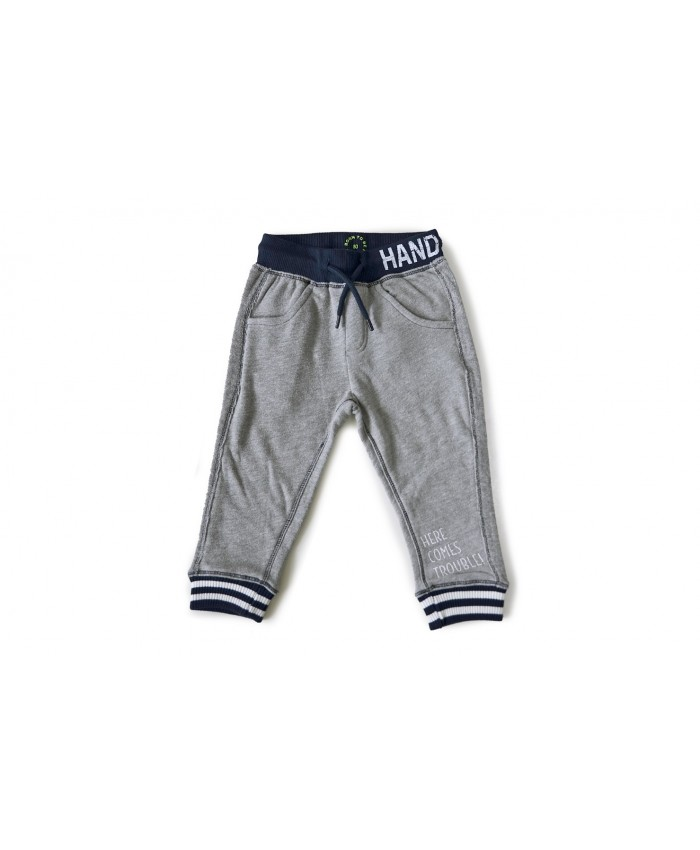 Born to be famouse tricot broekje grey