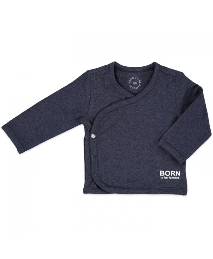 Born To Be FamousOverslag shirtje navy