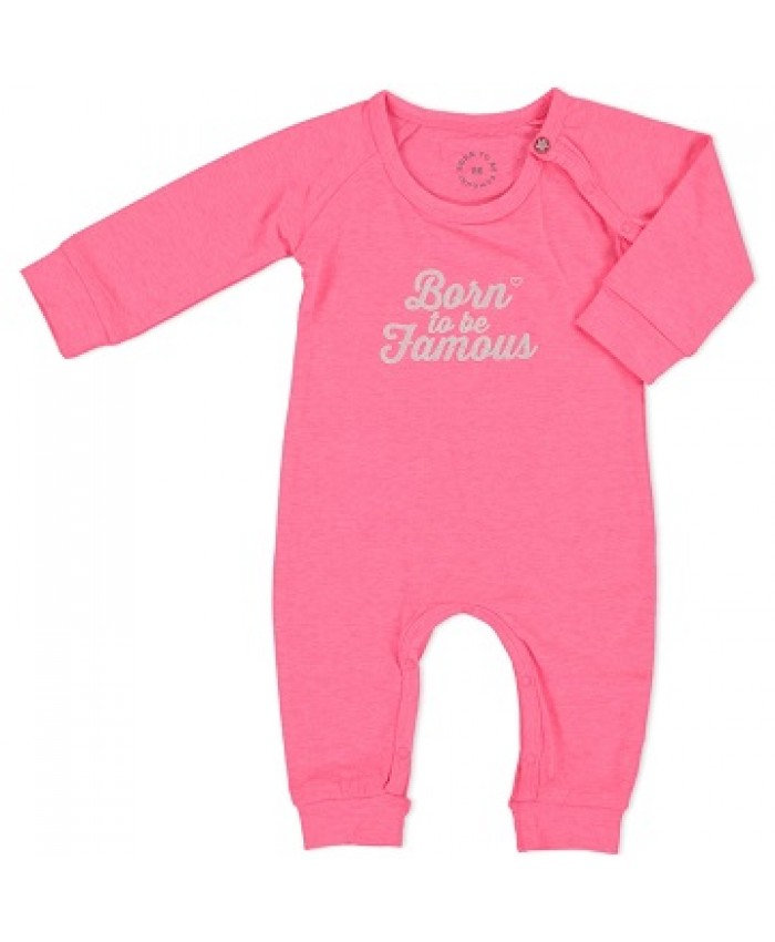 Born To Be Famous suit meisjes pink