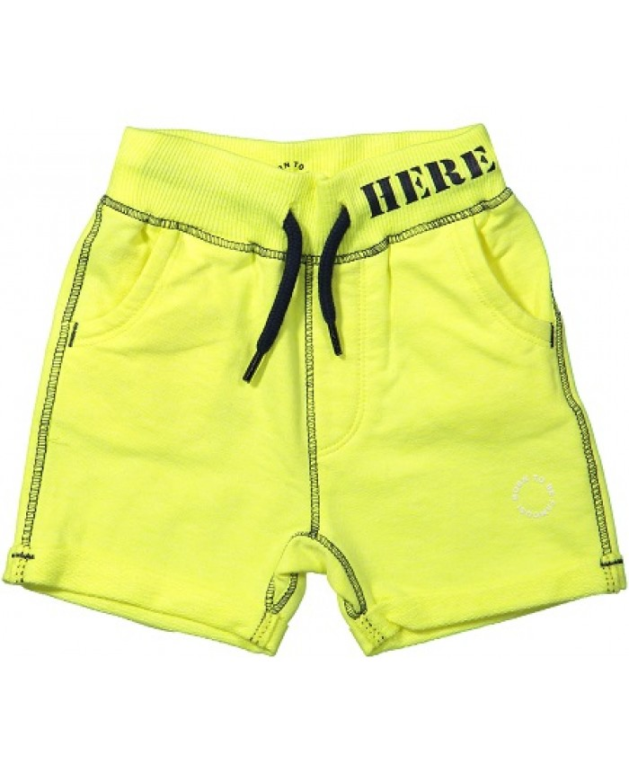 Born to be famous tricot jongens bermuda neon