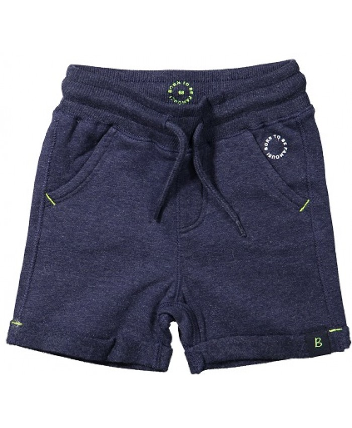 Born to be famous tricot short l navy