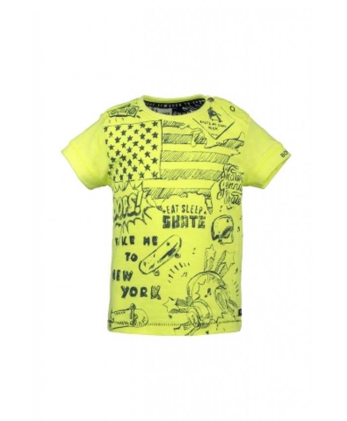 Born To Be Famous Tshirt Yellow