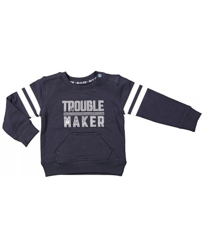 Born to be famous swèater navy