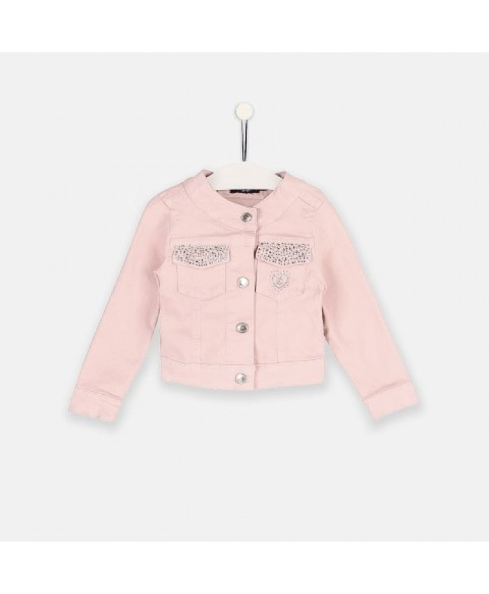 Conquitos Denim jacket Rosa Claro