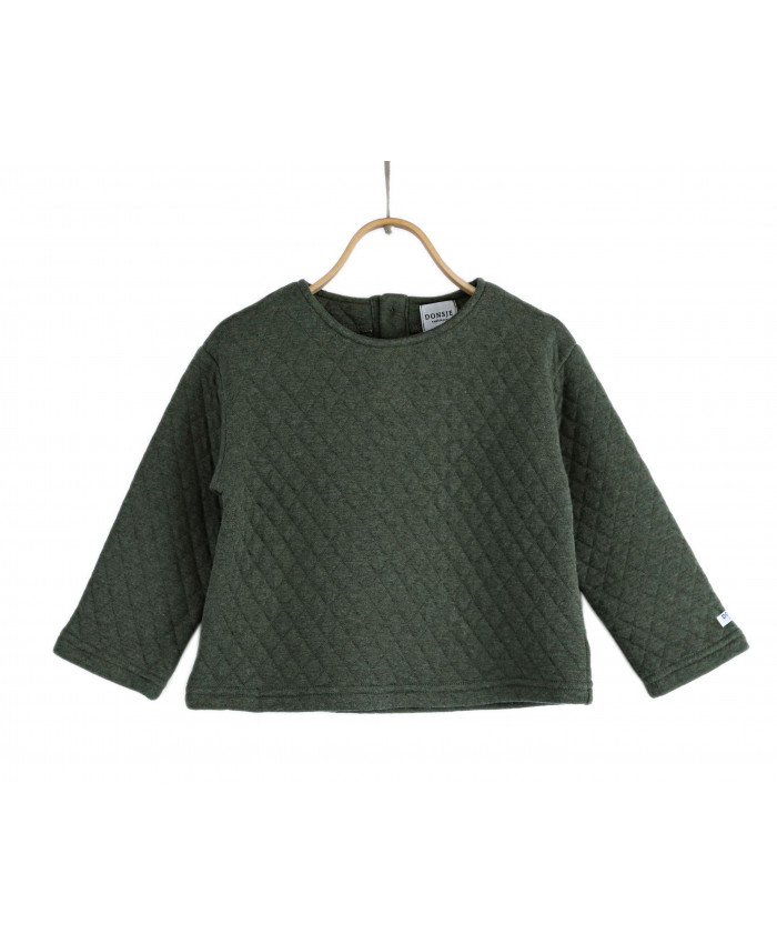 Donsje Sweater Moos Woodland Green