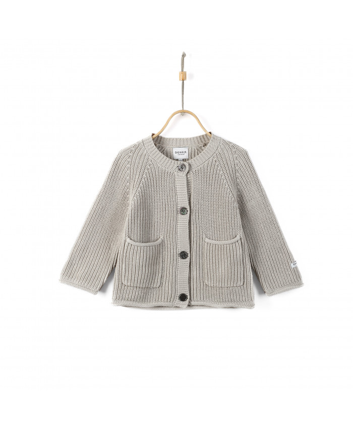 Donsje Cardigan Harper Light Stone