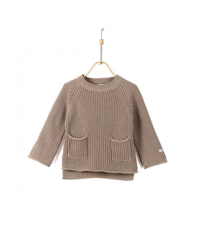 Donsje Stella Sweater Light taupe