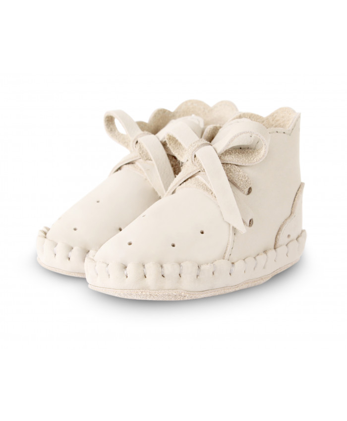 Donsje  Pina Jolie girls shoes off white leather