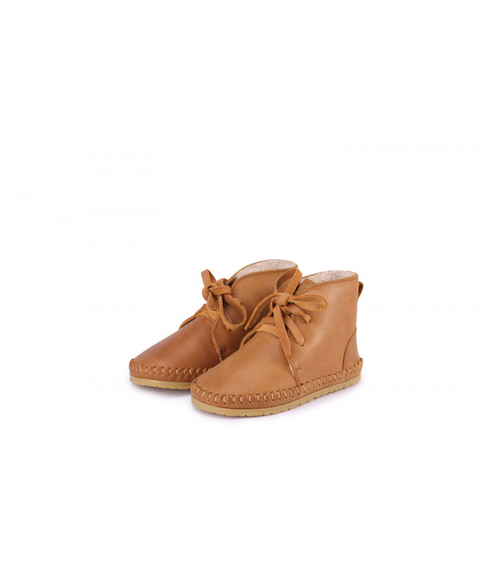 Donsje Oillie Lining  Winter Shoes Caramel Leather