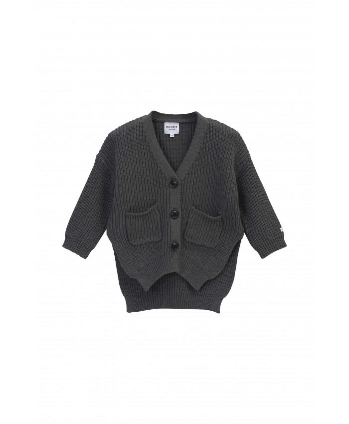 Donsje Macky Cardigan girls -  Boy's Cloudy Grey