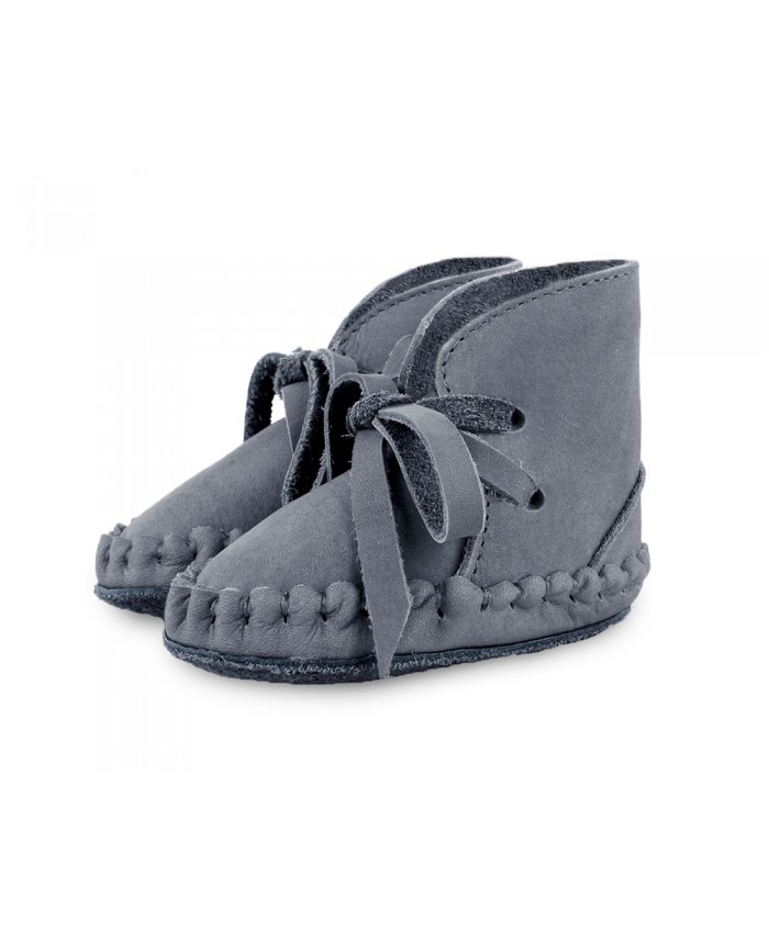 Donsje  Pina shoes Grey Nubuck leather