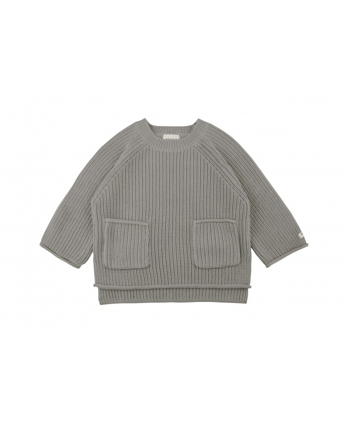 Donsje Stella Sweater Light Grey Cotton