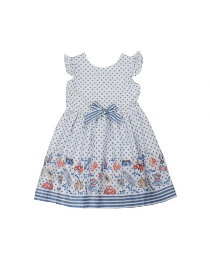 Dr.Kid Girls Dress Roma -Venice