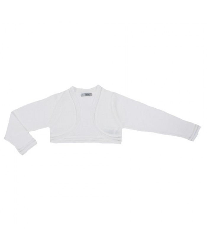 Dr.Kid Girl Short Cardigan Off White
