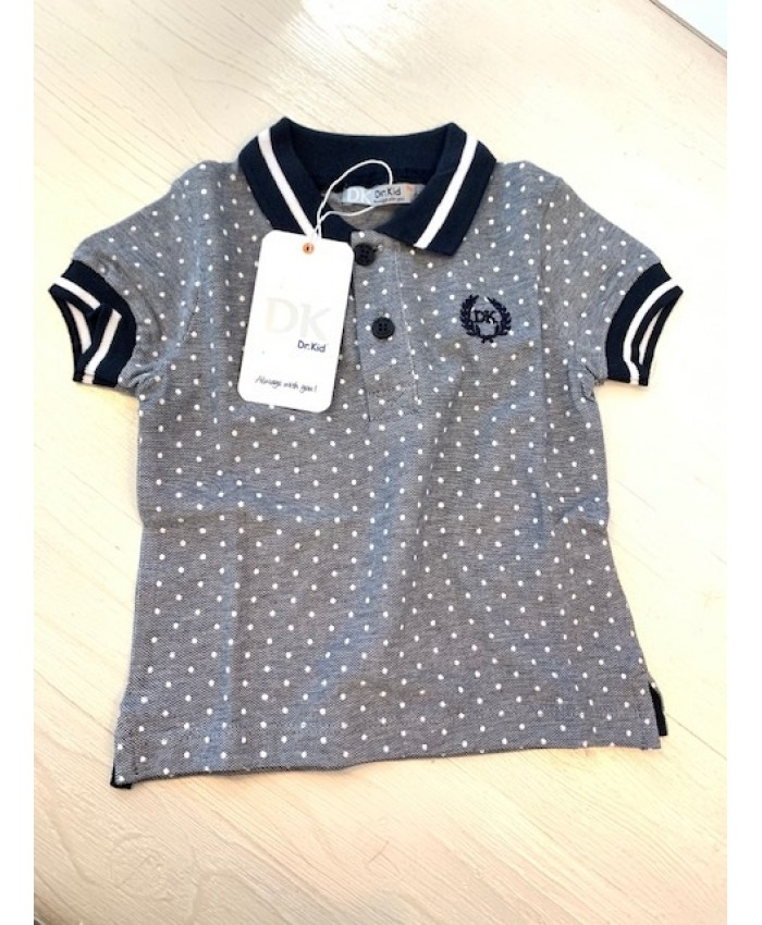 Dr.Kid Baby Jongens Polo  Shirt Navy