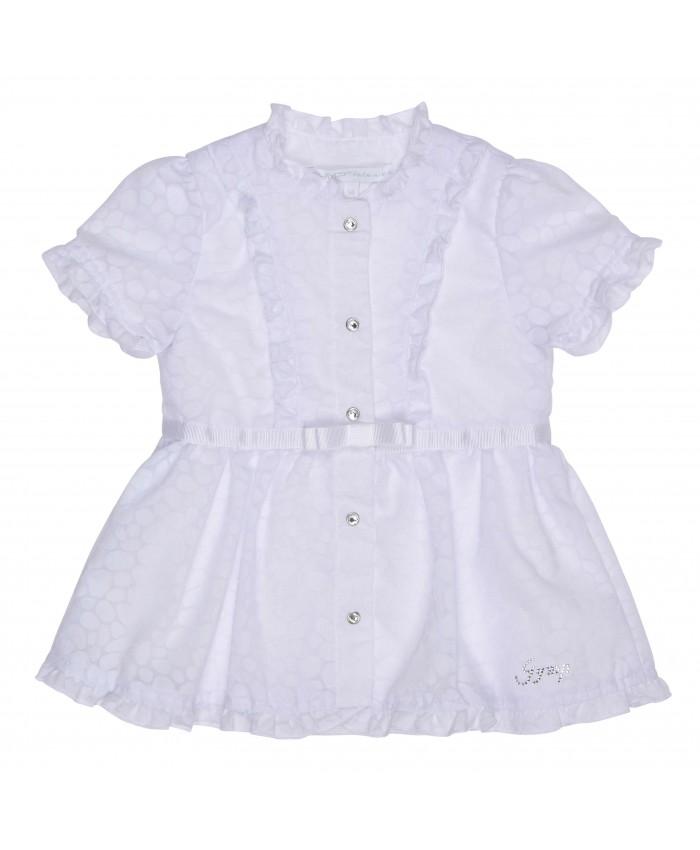 Gymp dress white