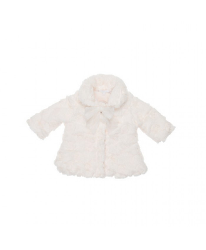 Gymp baby manteltje off white