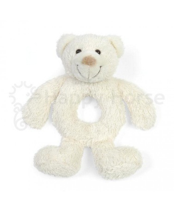 Happy horse  bear   boogy rattle ivory