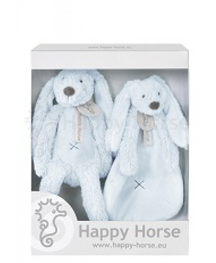 Happy horse blue rabbit richie gift box  17678