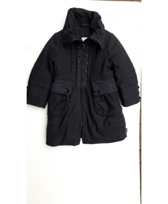 Jottum long winter coat navy