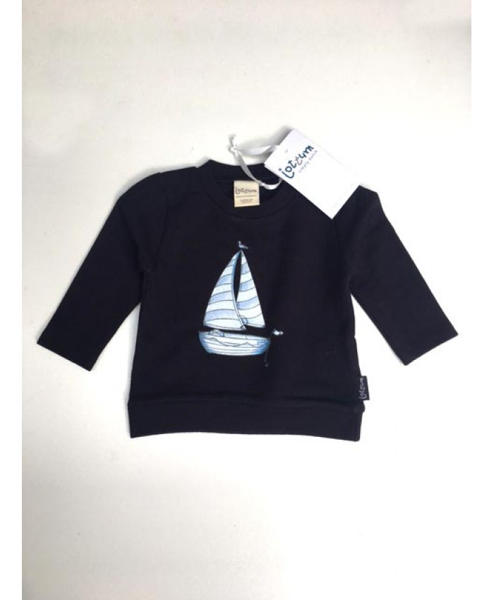 Jottum baby jongens sweat navy