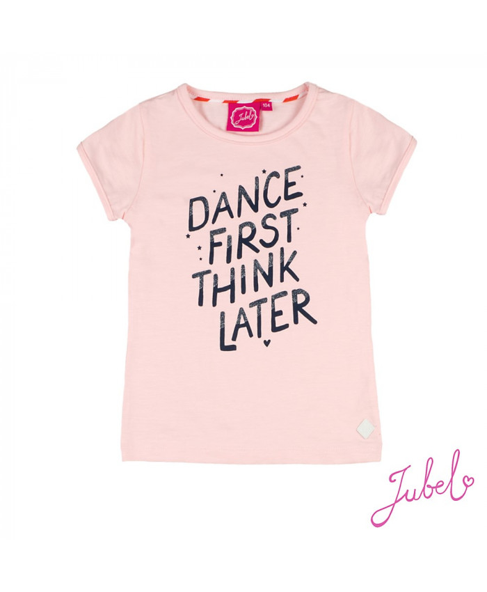 Jubel TShirt  Dance First -Funbird Roze