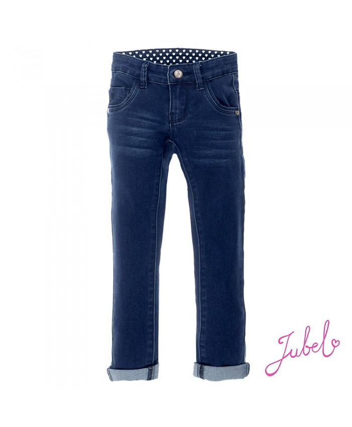 Jubel Meisjes Jeans Dark Blue Denim