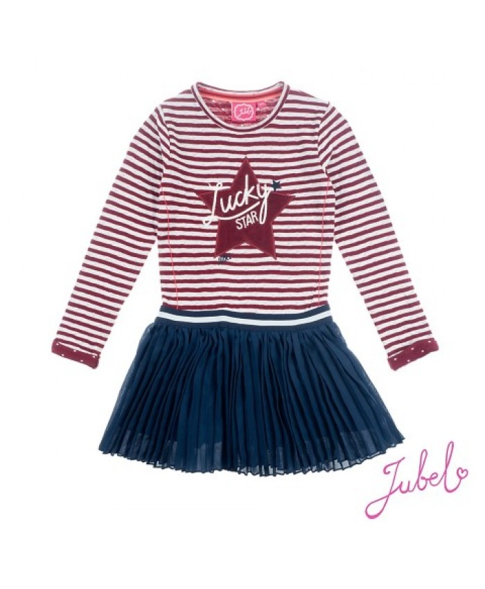 Jubel Dancing Dress Lucky Star Wijn Navy